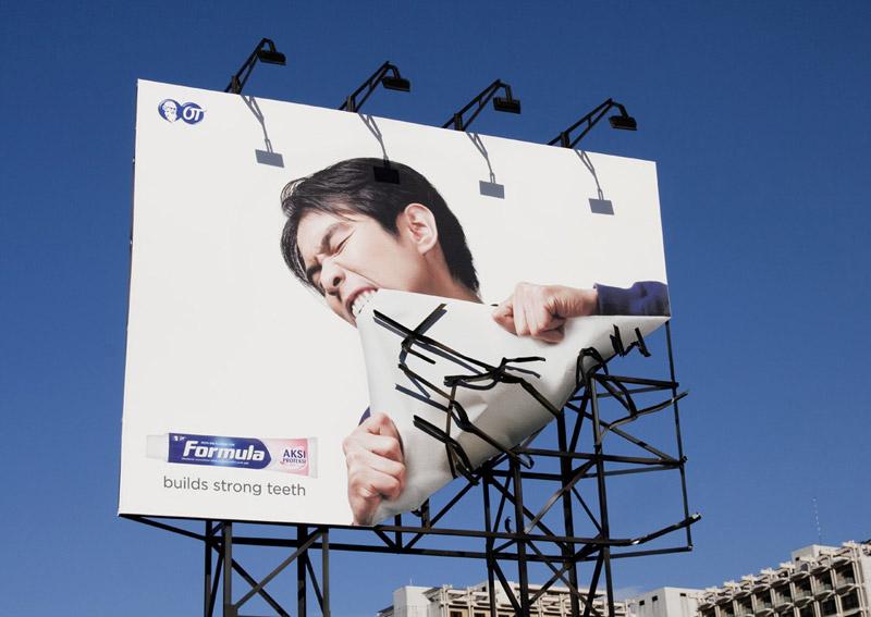 marco creativo - publicidad sorprendente