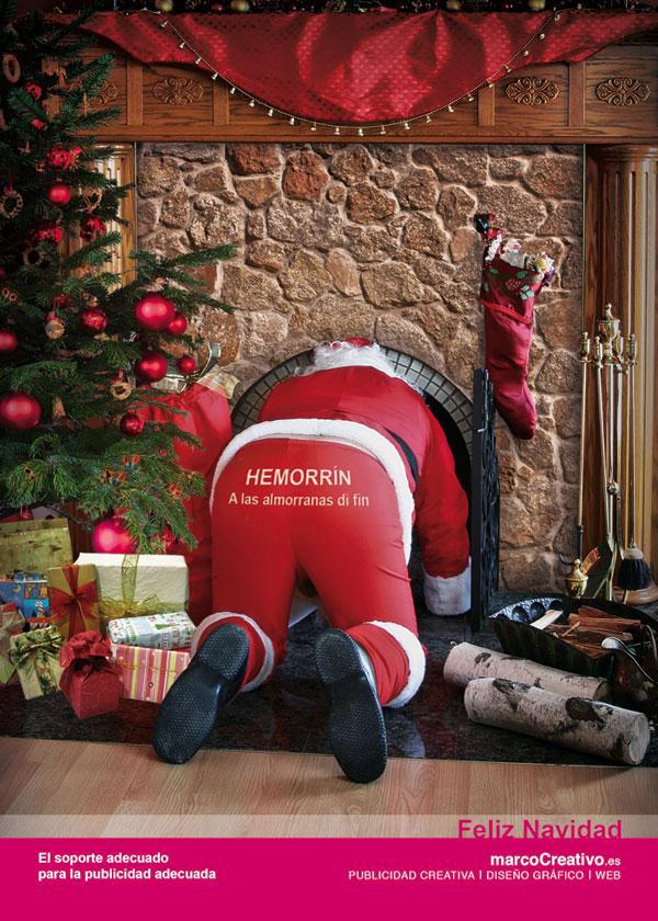 marco creativo - feliz navidad 2008