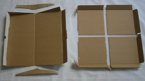 marcocreativo - caja de pizza reciclable greenbox