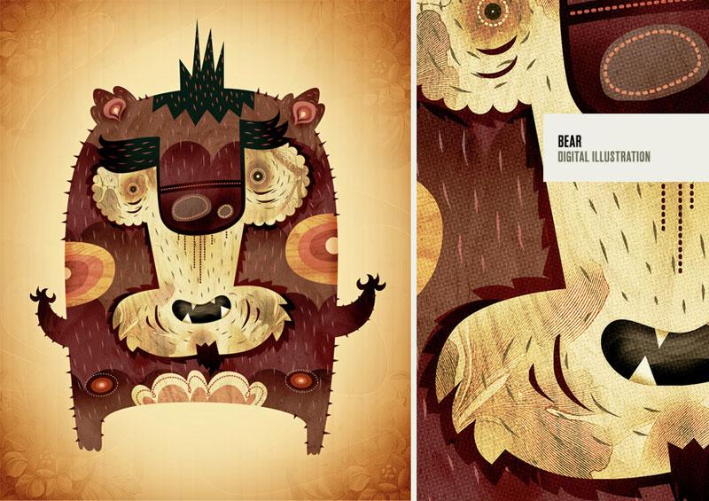 marco creativo - alberto cerriteño bear