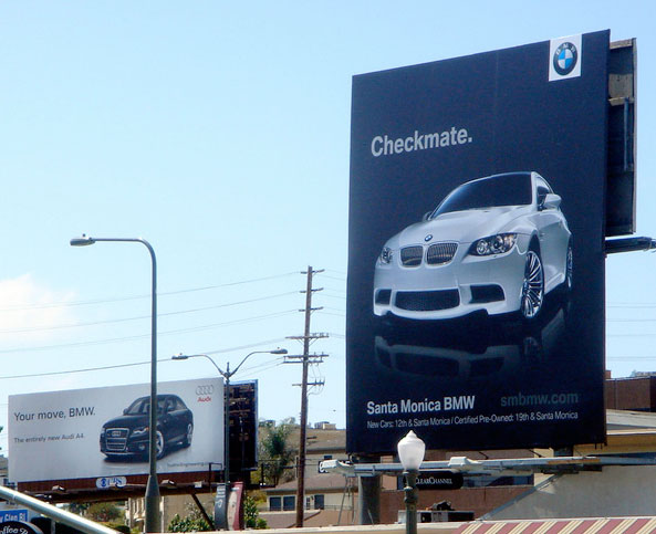 marco creativo - bmw jaque mate