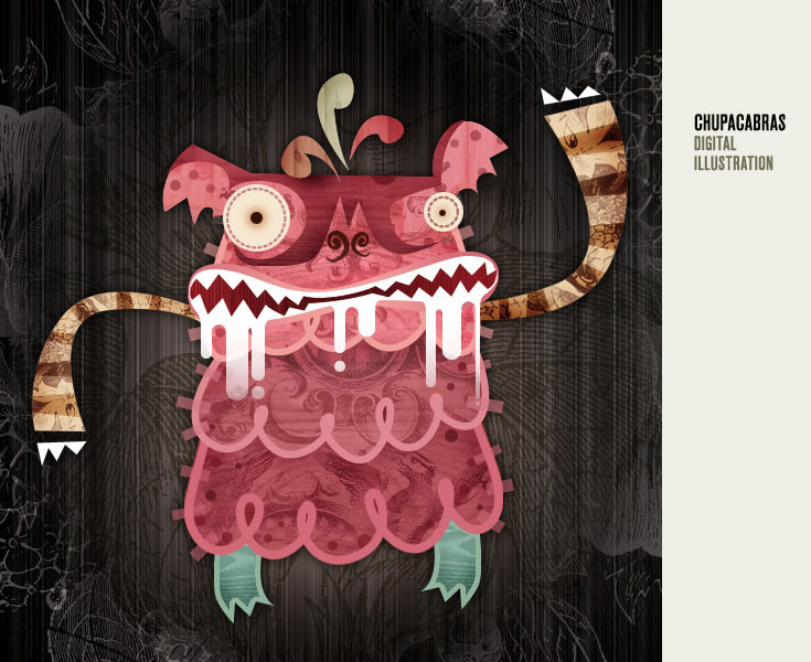 marco creativo - alberto cerriteño chupacabras
