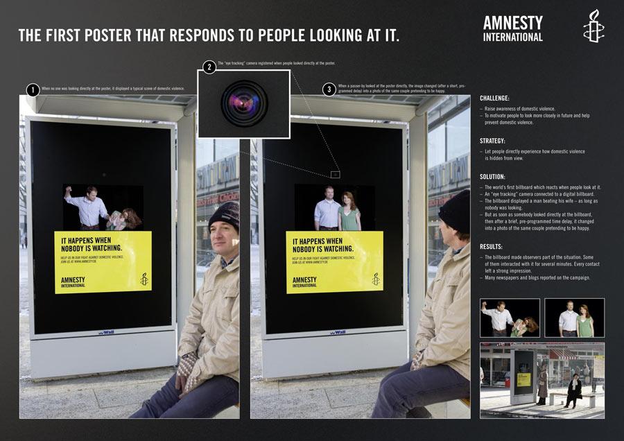 marcoCreativo - amnesty camera mupi camara amnistía