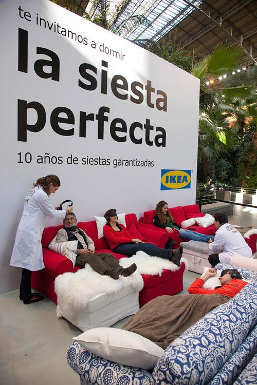 marcocreativo - IKEA SIESTA 10 años