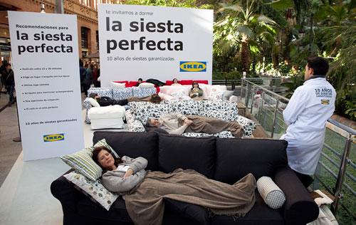 marcocreativo - Ikea 10 años de siesta