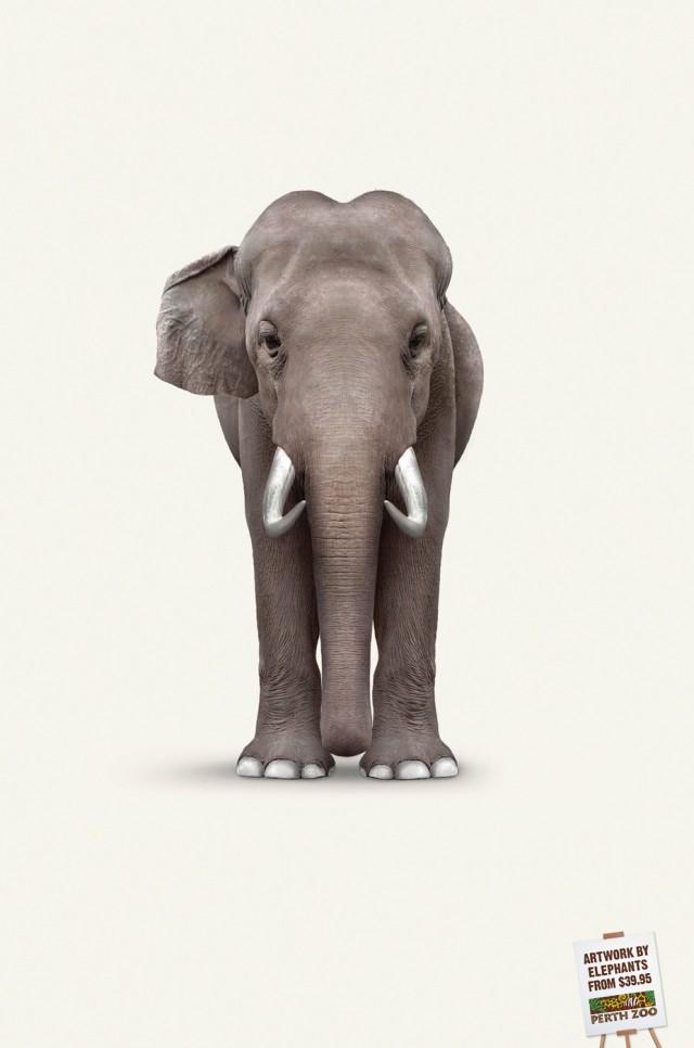 elefante van gogh