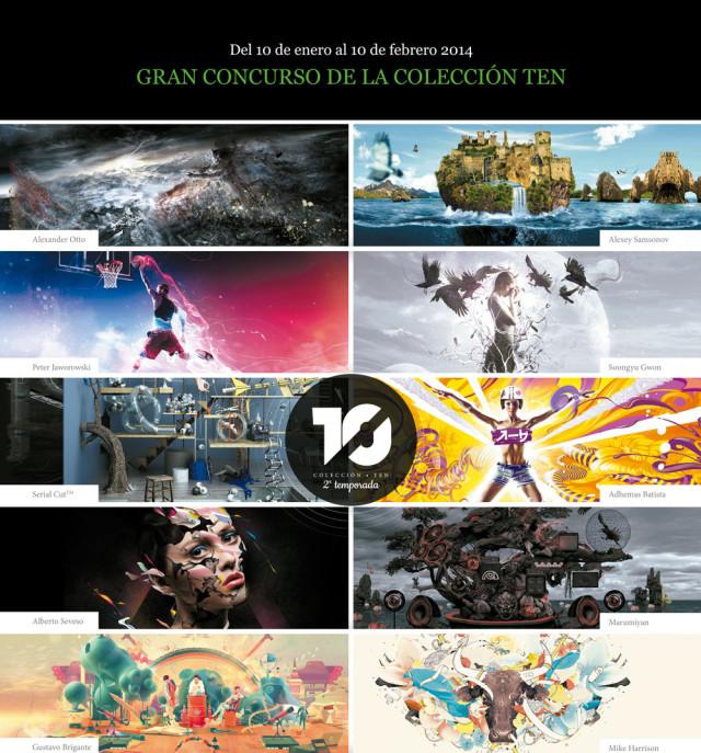 concurso de diseño gráfico proyecto TEN