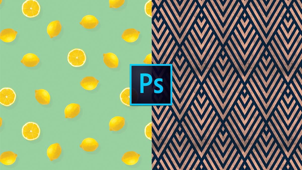 Como crear prints patrones o rapports en photoshop