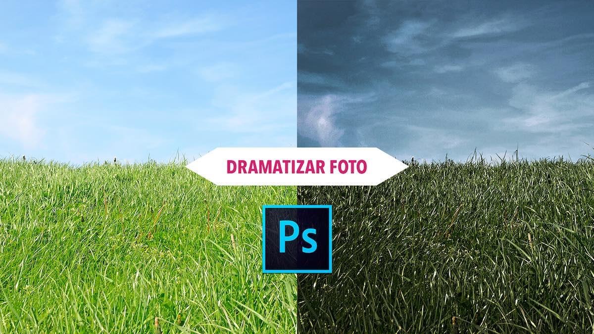 Tutorial Photoshop Como dramatizar una fotografia